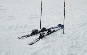 Pair of Rental Skis