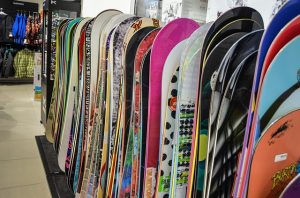 Snowboard Rental Shop